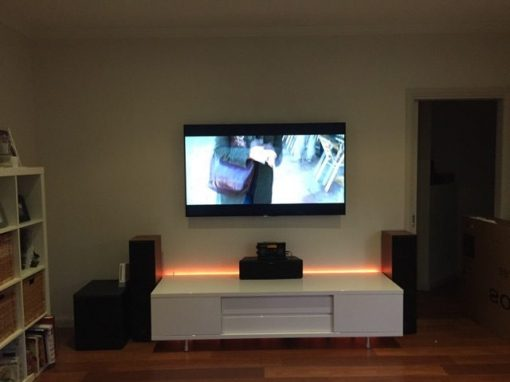 Sony 65″ 4K LED Wall Mounted with Home Theatre
