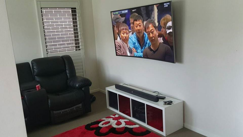 Curved Tv Wall Mount Installation Easy Tv